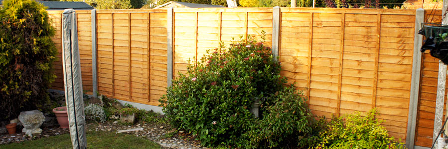 fence, overlap, grove green